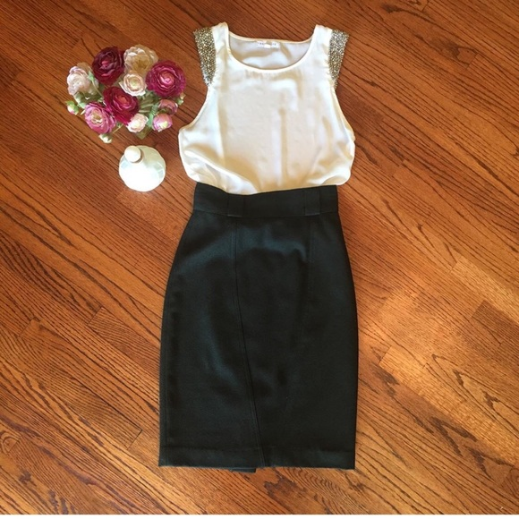 Vintage Dresses & Skirts - Vintage pencil skirt